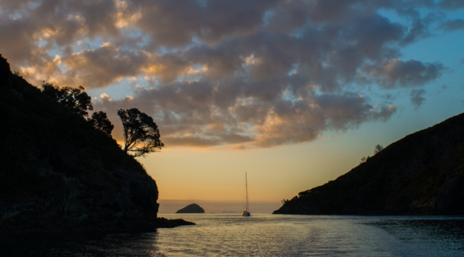 Sailing to Great Barrier Island 4