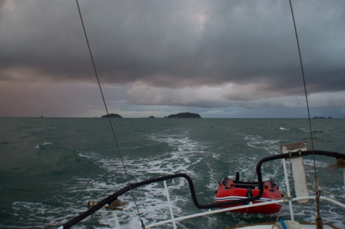 Sailing to Great Barrier Island 7