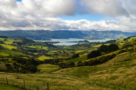 View of Akaroa from Christchurch