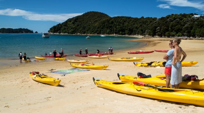Hiking the Abel Tasman Coastal Track