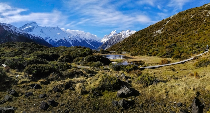 Hiking the Red Tarn Track, Mt Cook