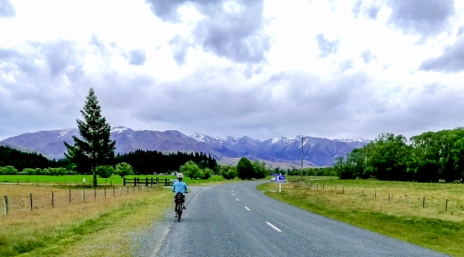 cycling in twizel