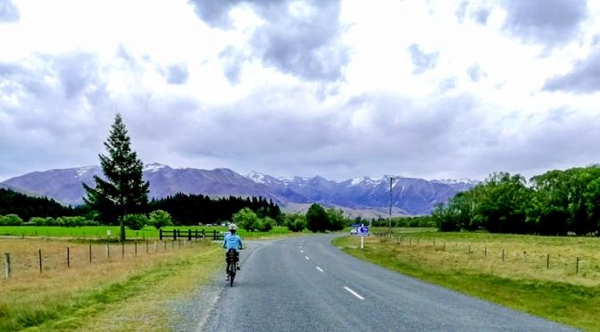 cycling in twizel